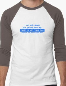 I Can Only Please One Person Men's Baseball ¾ T-Shirt