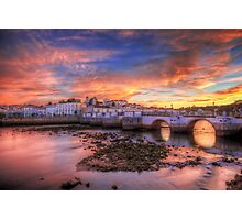Tavira Sunset Photographic Print