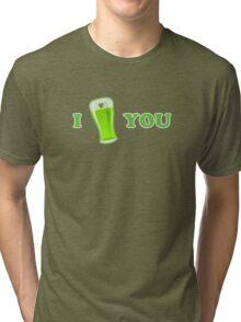 I Beer You St Patricks Day Tri-blend T-Shirt