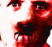 trencherman red Sticker