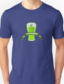 St Patricks Day Beer Glass T-Shirt