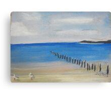 Worn Away - Artwork Canvas Print