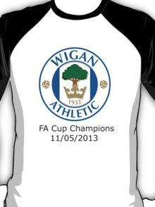 Wigan FA Cup Champions T-Shirt