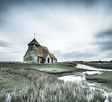 Thomas a Becket Church - bleach bypass by Ian Hufton
