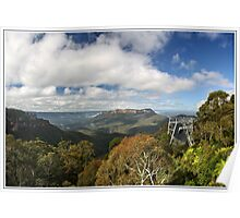 The scenic Blue Mountains world Poster