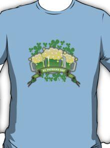 St Patricks Triple Beer Banner T-Shirt