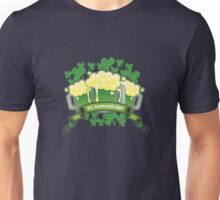 St Patricks Triple Beer Banner Unisex T-Shirt