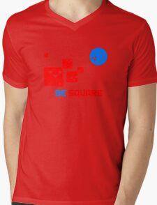 Be Square Mens V-Neck T-Shirt
