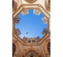King D.Duarte Pantheon. O Céu das Capelas Imperfeitas. Batalha Monastery Photographic Print