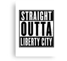 GTA - Liberty City Canvas Print