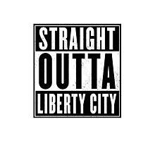 GTA - Liberty City Photographic Print