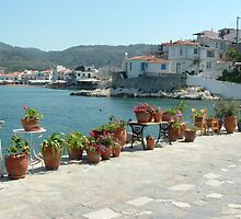 A Greek fishing village by Sue Gurney