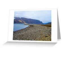As far as the eye can see. Greeting Card