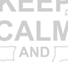 Keep Calm And Use A Condom Sticker