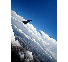 Take Flight - Airplane Sky view Photography  Photographic Print