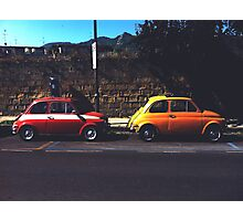 Fiat & Abarth 500s Photographic Print