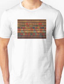 Vintage Library at Chateau Chantilly, Paris FRANCE T-Shirt