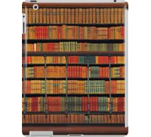 Vintage Library at Chateau Chantilly, Paris FRANCE iPad Case/Skin