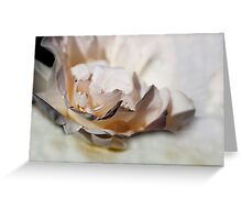 I LOVE TO SMELL THE ROSES IN MAY III Greeting Card