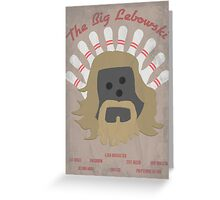 The Big LeBOWLski Greeting Card