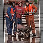 Dry-dock workers by awefaul