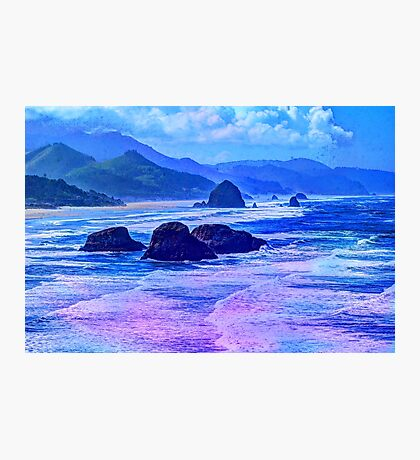 Abstract Ocean View Photographic Print