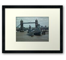 The Three Cities Framed Print