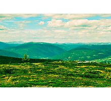 Norwegian Mountains Photographic Print