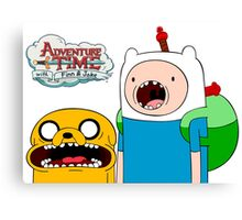 ♡ ADVENTURE TIME ♡ Canvas Print