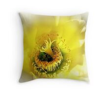 Cactus Glory Throw Pillow