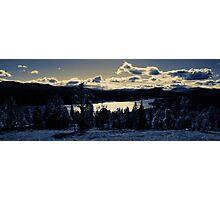 Norwegian Nature in Panorama Photographic Print
