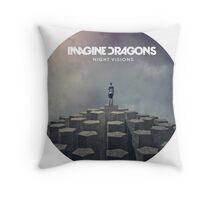Imagine Dragons Throw Pillow
