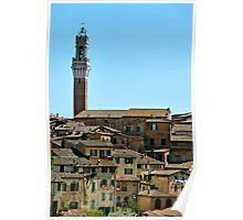 Campanile di Siena Poster