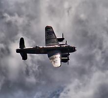 Dambusters 70 Years On - BBMF Lancaster 2 - HDR by Colin  Williams Photography
