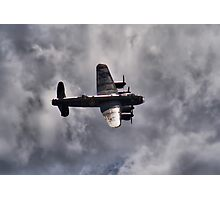 Dambusters 70 Years On - BBMF Lancaster 2 - HDR Photographic Print