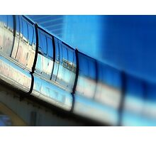 Tilt-Shift a MonoRail Blue Photographic Print