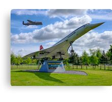 Dambusters 70 Years On - BBMF Lancaster 3 - HDR Canvas Print