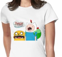 ♡ ADVENTURE TIME ♡ Womens Fitted T-Shirt