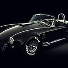 Shelby Cobra 427 Black by Marc Orphanos