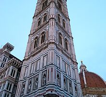 Giotto's Campanile at dusk by kejube