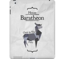 House Baratheon - Stained Glass iPad Case/Skin