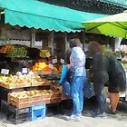 Fruit For Sale Hoboken NJ by Susan Savad