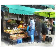 Fruit For Sale Hoboken NJ Poster