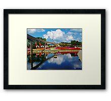 Epcot wonderland Framed Print