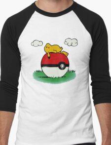 Poke House,Pikachu,Pokemon T-Shirt