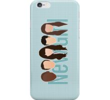 New Girl Silhouette iPod/iPhone Cover iPhone Case/Skin