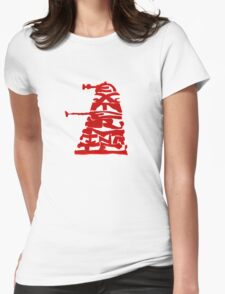 Exterminatext Womens Fitted T-Shirt