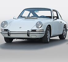 1967 Porsche 911 Coupe by DaveKoontz