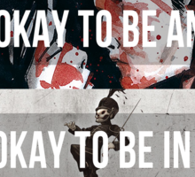 It's Okay - MCR Sticker