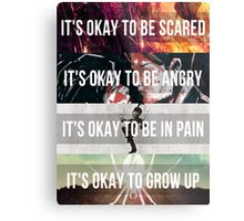 It's Okay - MCR Metal Print